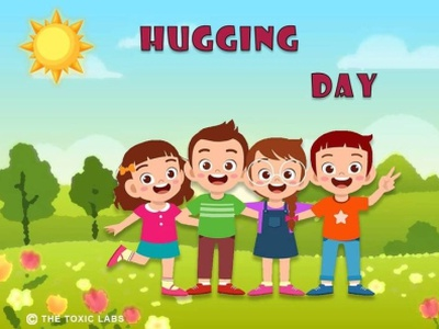 Hugging Day👭👫 branding ui ux design vector socialmedia poster design photoshop illustration graphicdesign