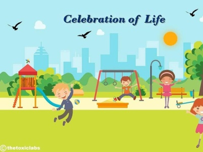 Celebration of life😊 ui ux design branding socialmedia poster design photoshop illustration graphicdesign