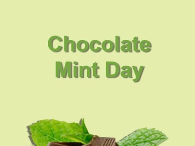 Chocolate Mint Day 🍫 socialmedia ui ux design poster design photoshop illustration graphicdesign