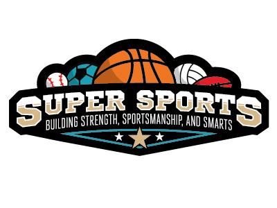 super sports logo by bailey hindman dribbble dribbble