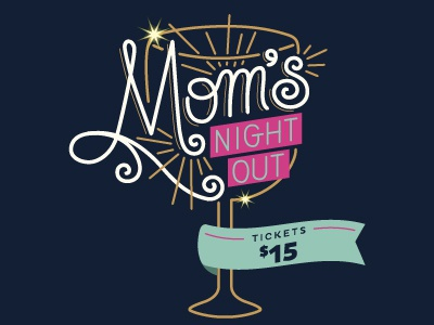 Mom's Night Out logo