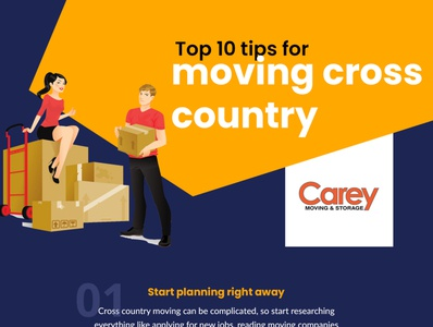 Top 10 tips for moving cross country carey moving and storage long distance movers cross country moving