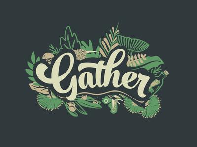 Event Illustration for Gather 2016