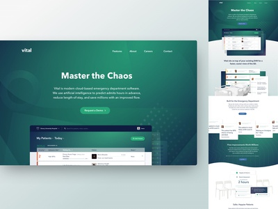 Vital — Website Homepage