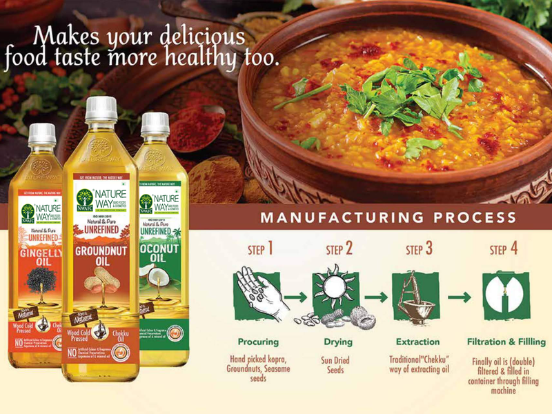 Nature Way Cooking Oil Online coconut sesame oil groundnut oil coconut oil cooking oil