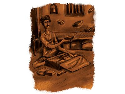 Story Illustration fantasy story illustration illustration illustraion happy studio fireart design character cartoon art