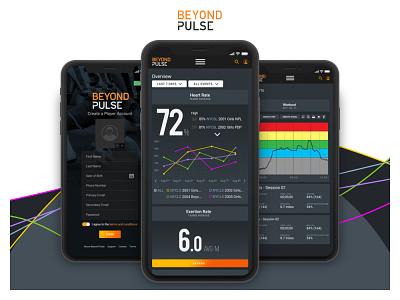 Mobile App Design: Beyond Pulse illustration ux design mobile ui mobile design