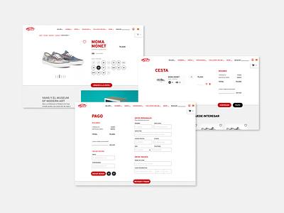 Retail platform ux branding design e-commerce ui