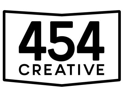 454 Creative Logo creative 454