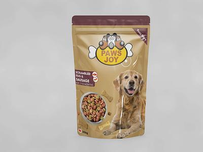 Food Package - Design business identity photoshop mockup package packagedesign packet design food dog typography design vector illustration