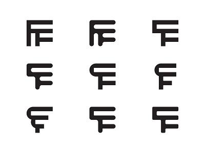 Futurity Fest Monogram Exploration logodesign monogram custom brand logotype identity branding typography type logo