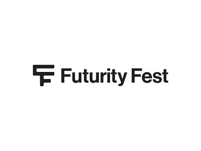 Futurity Fest proposal design monogram custom brand logotype identity branding typography type logo