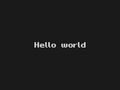 Hello world lettertype glyphsapp glyphs custom font font lettering custom type logotype type typography