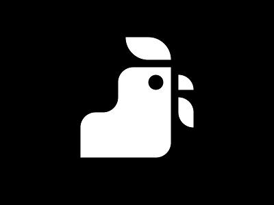 Bas de Haan rooster illustration type design brand identity logotype typography branding logo graphic design