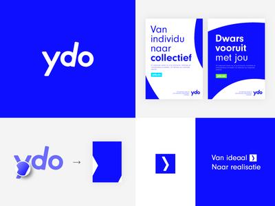 Ydo Branding System consultancy typography style system identity forward logotype logo brand branding