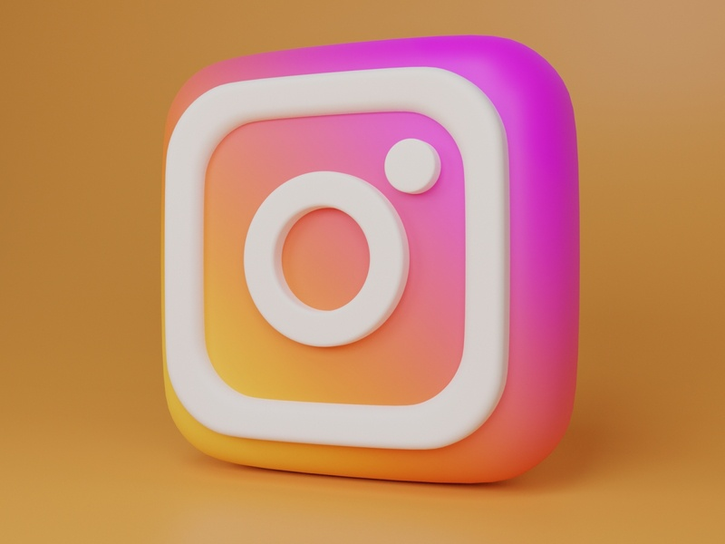instagram graphic design app illustrator illustration design ui icon branding logo 3d