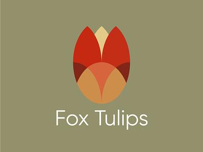 foxtulip graphic design branding logo