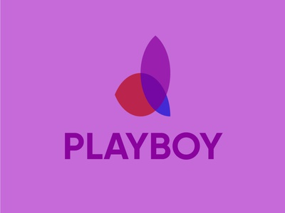 PLAYBOY minimal illustrator vector icon graphic design design branding logo