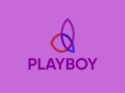PLAYBOY Line minimal illustrator vector app illustration icon graphic design design branding logo
