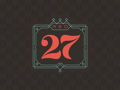 Red27 logo Concept