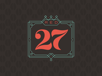 Red27 logo Concept