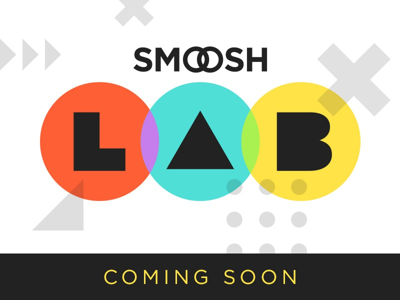 Smoosh Lab 1 logo circles lab smoosh puzzle game app