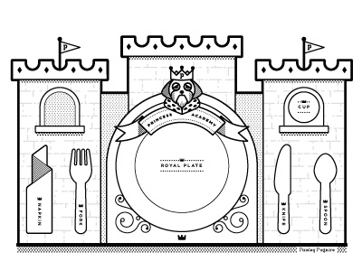 Paisley Pugmire Placemat Coloring Page by Jesse Huffman - Dribbble