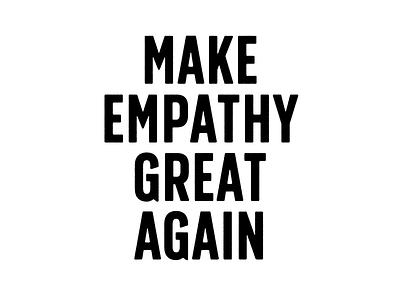 MEGA 2020 typogaphy protest politics
