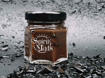 Spirit Muds hot sauce branding illustration logo design