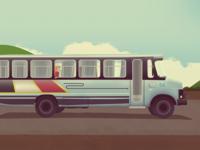 Paraguayan Bus Ride