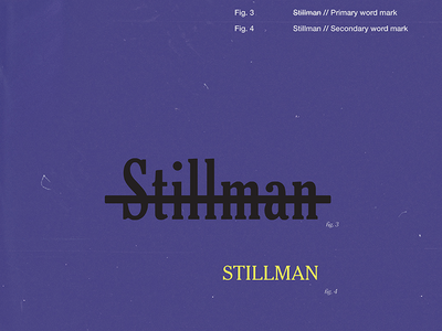 Stillman word mark