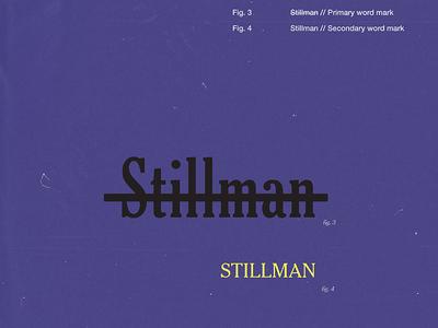 Stillman word mark