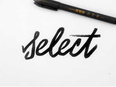 Select Hand Lettering
