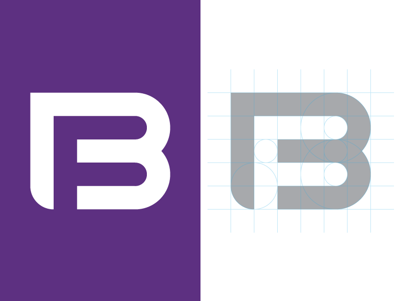 Booster Fuels Logo Redesign inline f b purple grid logo booster