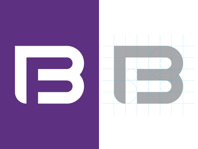 Booster Fuels Logo Redesign inline f b purple grid logo booster