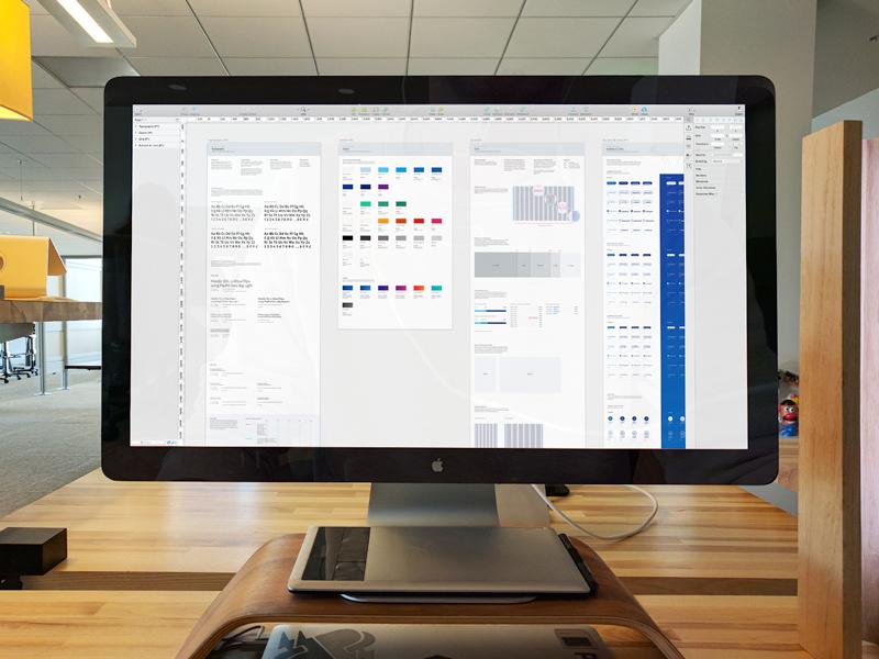Design System Documentation WIP sketch paypal workspace desktop display wip documentation layout monitor