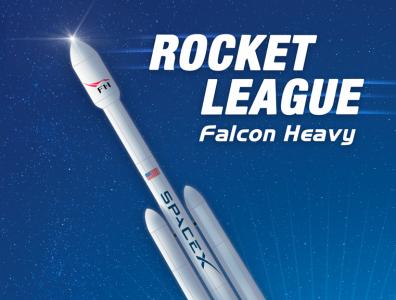 SpaceX Falcon Heavy illustration design art rocket space fanart
