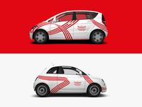 Westfalenhallen Dortmund — Car Wrapping