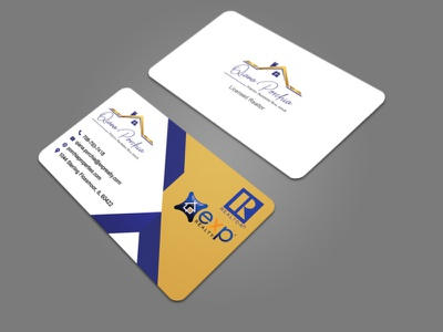 I will design creative and professional business card ux template website design website web design vista visa card thank you card postcard mastercard logo giltter craditcard business logo business card design businesscard yellow white blue black