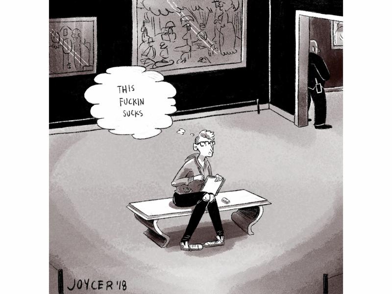 this sucks art institute masters copies autobio comics diary comics comics illustration