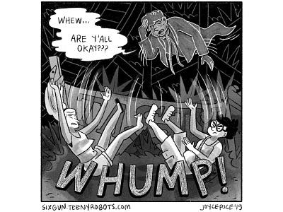 Day 25 - Tasty young adult cartoon digital art comics comic black and white inktober digital procreate illustration