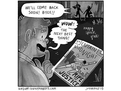 Day 31 - Ripe young adult cartoon digital art comics comic black and white inktober digital procreate illustration