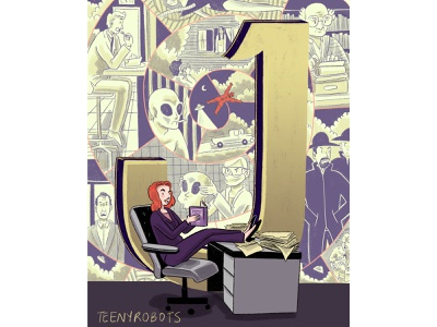 J is for Jose Chung print poster alienabduction aliens scully mulder mulderandscully illustratedtype illustration typography 36daysoftype danascully foxmulder josechung xfiles