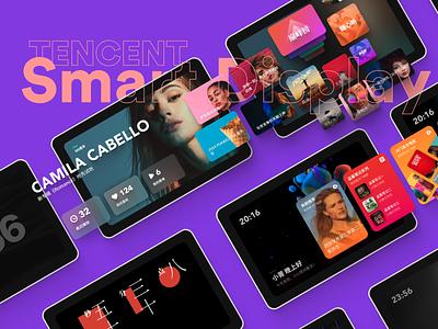 Tencnet Smart Display media color card music player music display smart