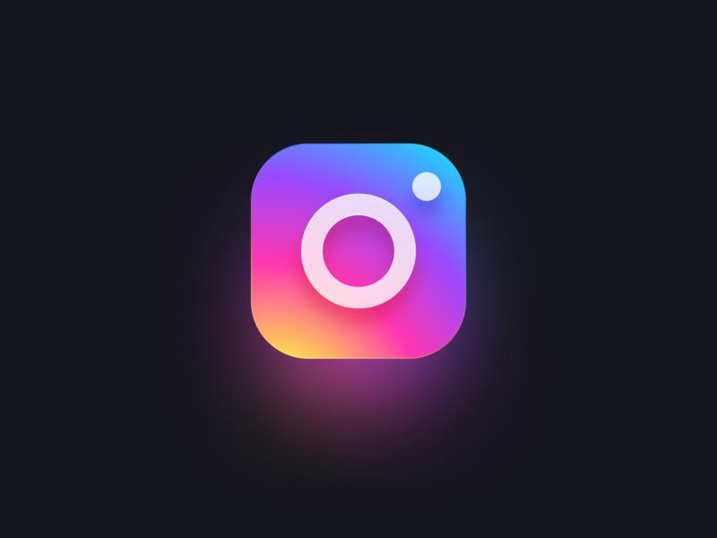 Instagram Logo big sur ios icon logo instagram