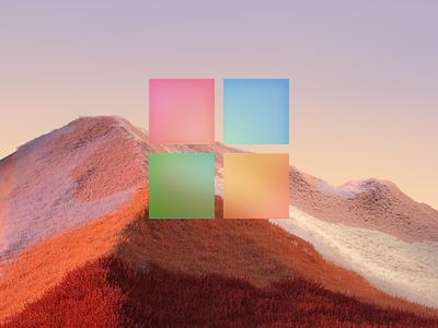 Microsoft big sur icon iphone ios color app