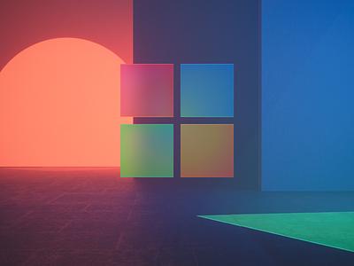 Microsoft 1 big sur icon iphone ios color app