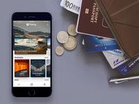 WIP Travel app UI Kit