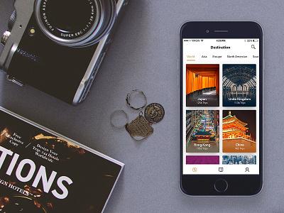 WIP Travel app UI Kit kit ui app trip travel wip