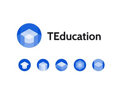 T Education tech hat logo edit edu education